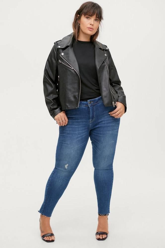 Zizzi Jeans Cropped Sally Ex. Slim