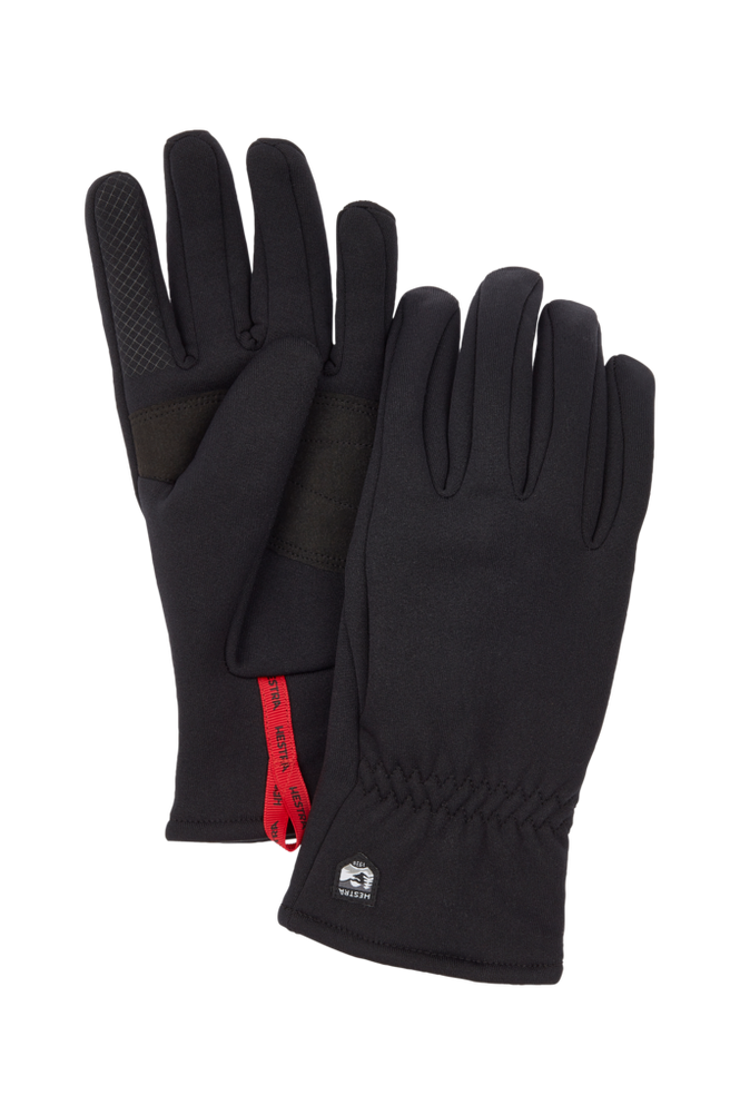 Se Hestra Fingervanter Touch Point Fleece Liner Jr. ved Ellos