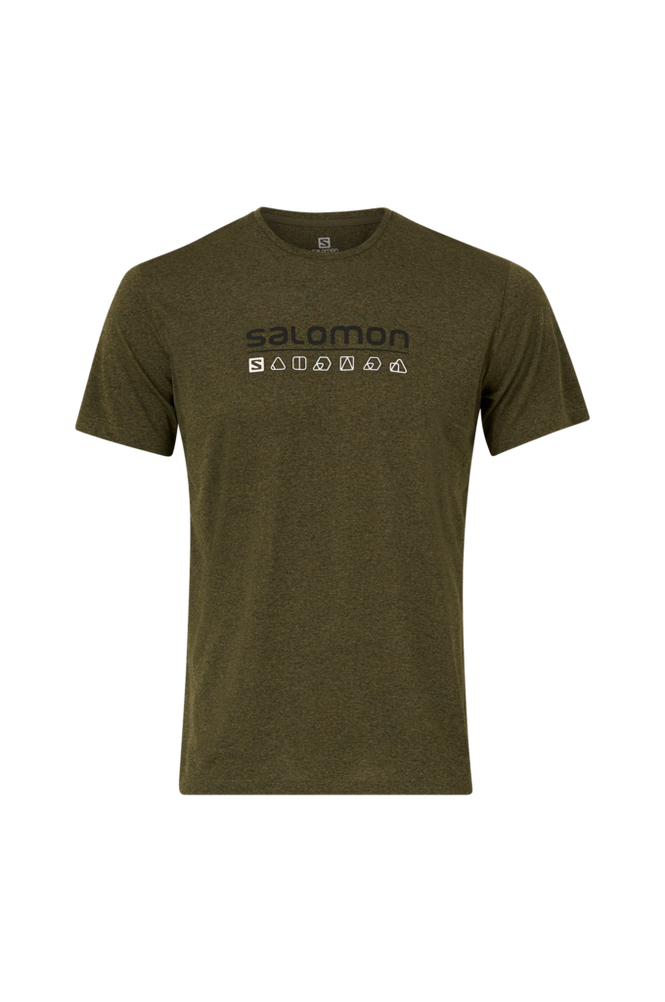 Salomon Trænings-T-shirt Agile Graphic Tee