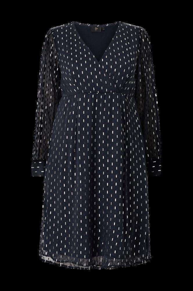 ZAY Kjole yGeneive L/S Blk Dress
