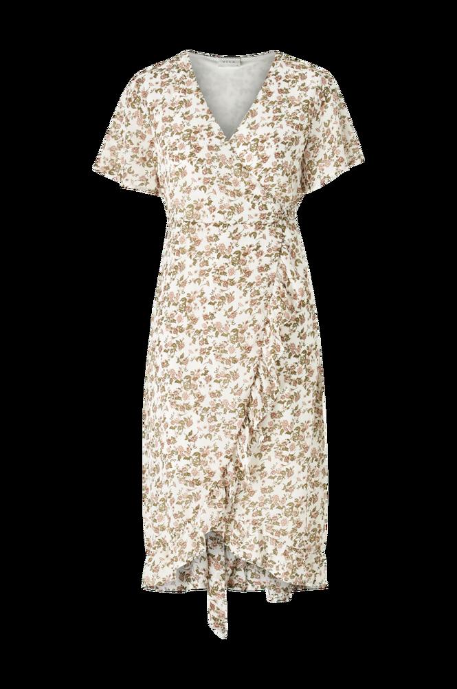 Vila Slå om-kjole viSusan S/S Wrap Flower Dress