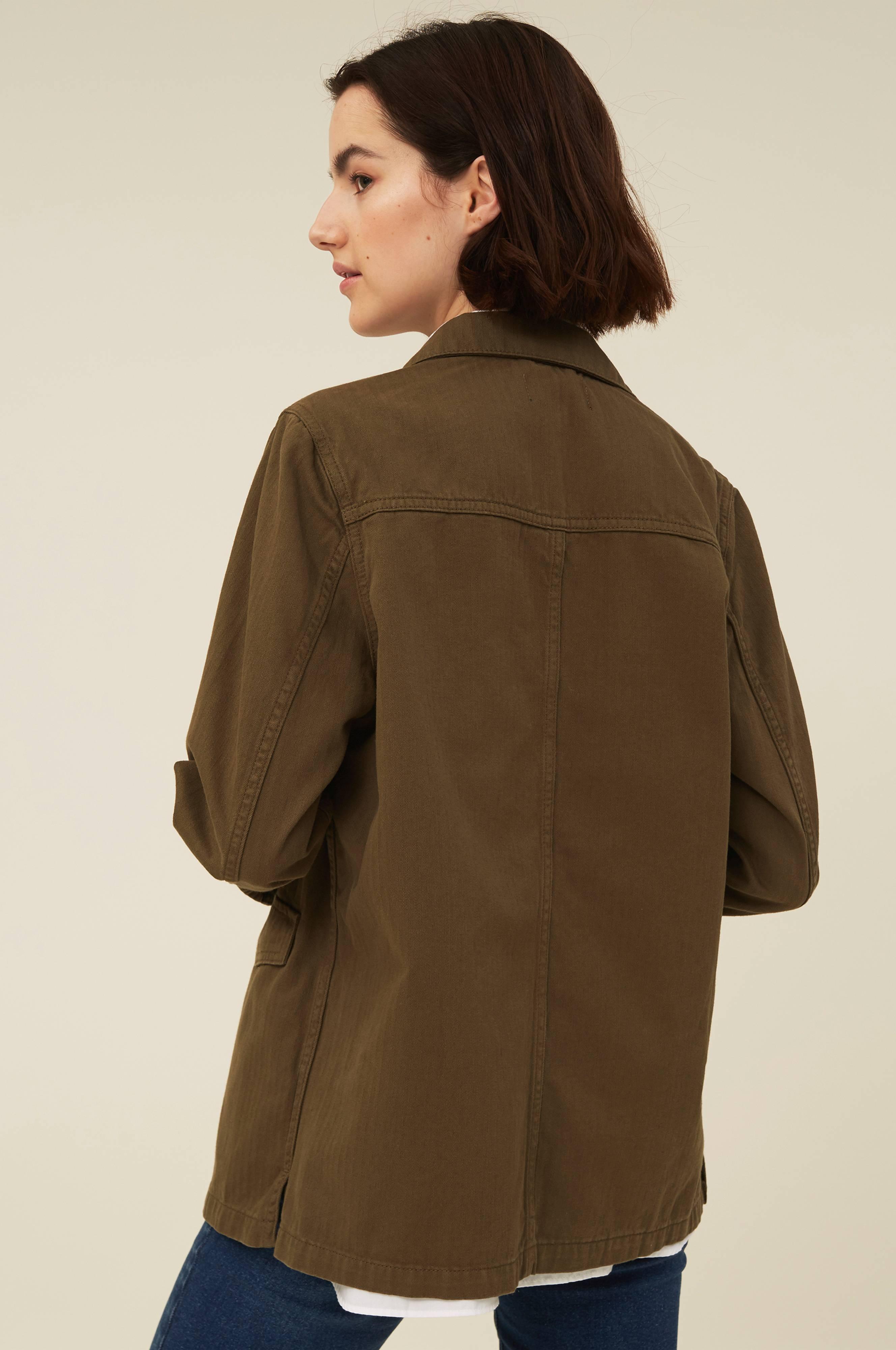 Lexington Kavaj Raven Herringbone Jacket Grön Dressade
