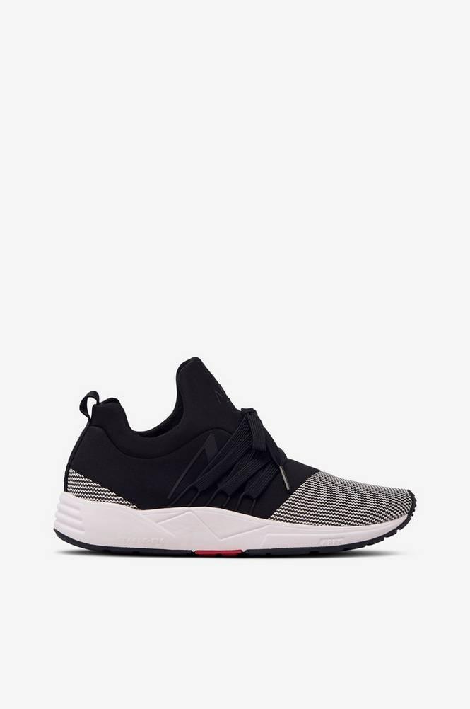 Arkk Copenhagen Sneakers Raven Mesh S-E15 Black White