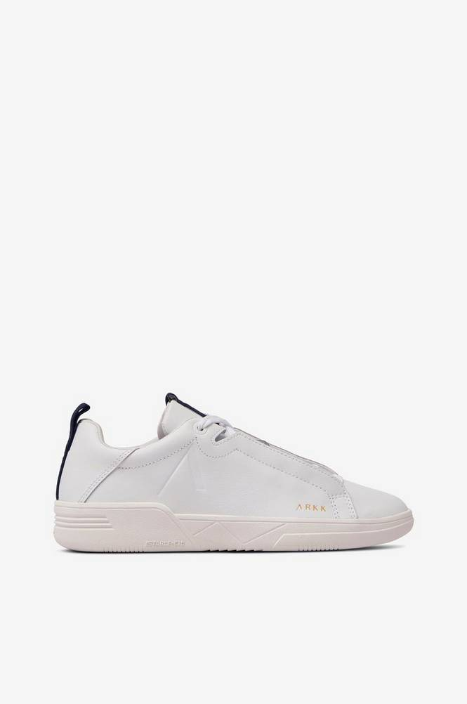 Arkk Copenhagen Sneakers Uniklass Leather S-C18 White Midnight