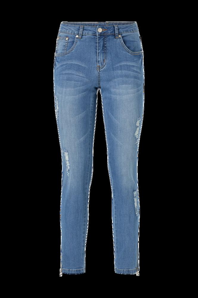 culture Jeans cuSheila MW Distressed Jeans
