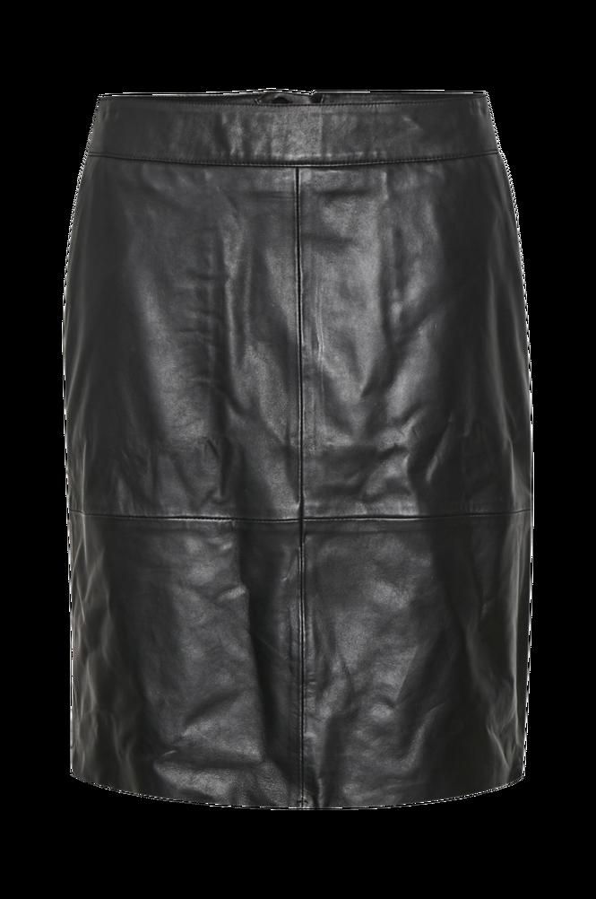 culture Skindnederdel cuBerta Leather Skirt