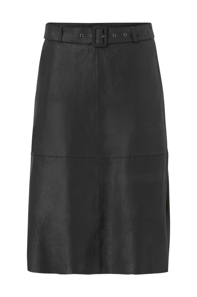 culture Nederdel cuAlina Leather Skirt
