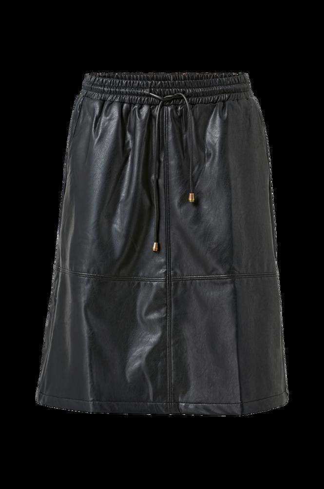culture Nederdel cuBecky PU Skirt