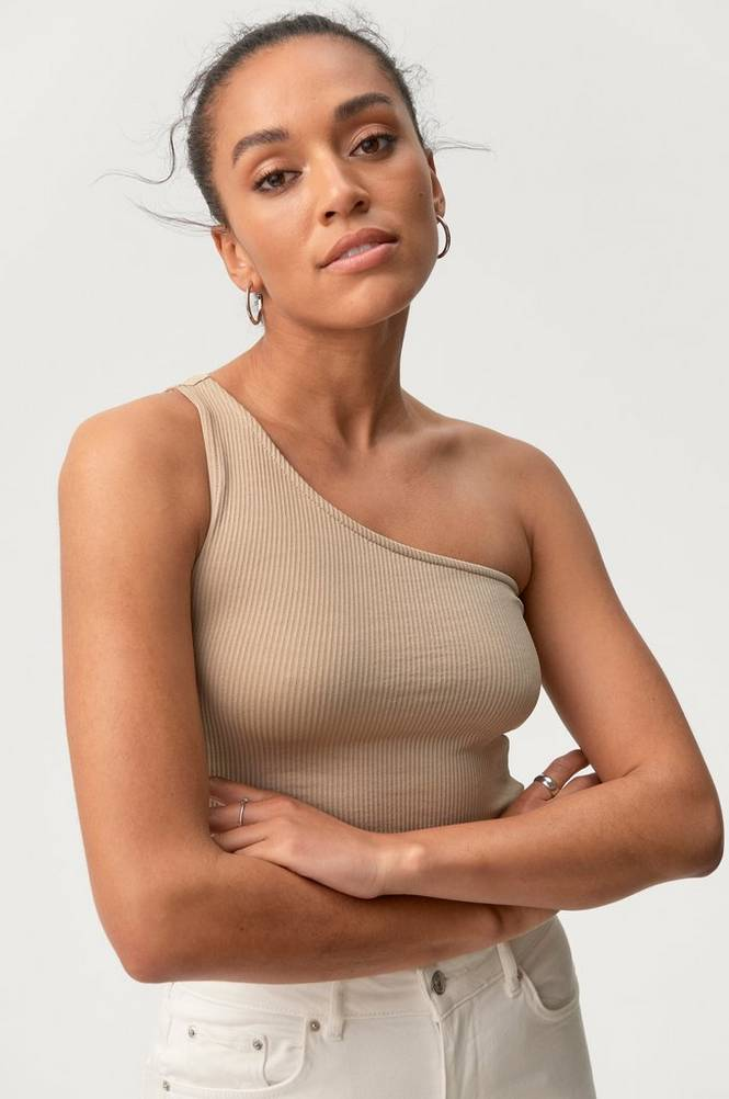 Gina Tricot Top Joline One Shoulder Top