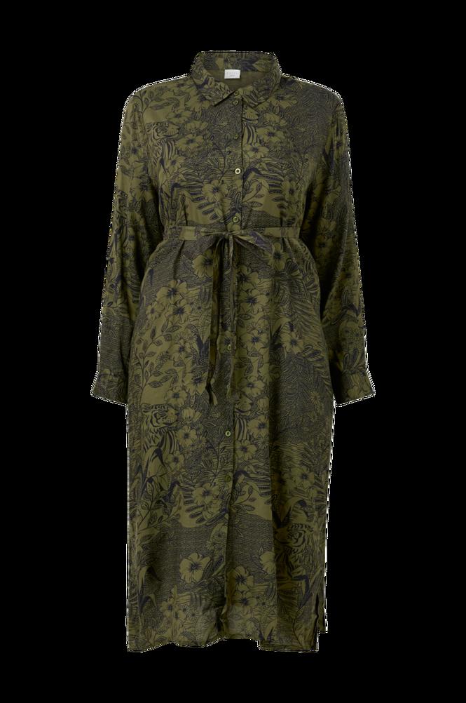 KAFFE Curve Skjortekjole kcMont Shirt Dress