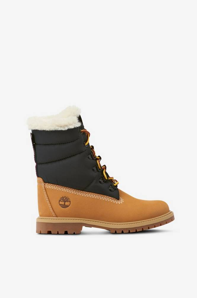 Timberland Støvle 6 Inch Heritage Puffer Boot-W