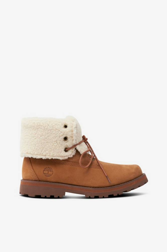 Timberland Støvle Courma Kid Shearling Roll Top
