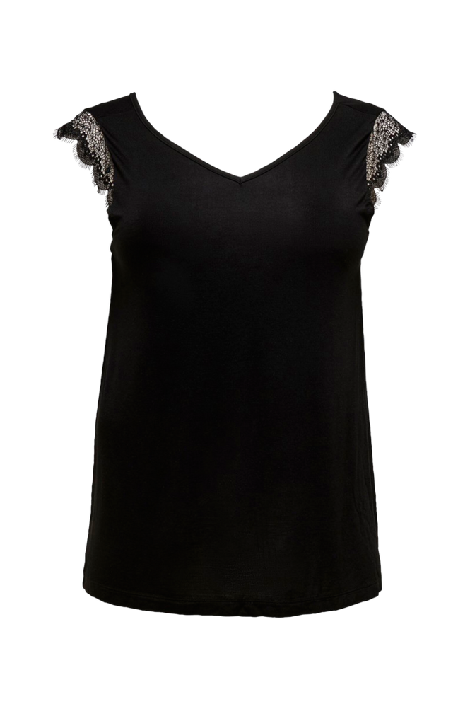 Only Carmakoma Top carAdeline SL Lace Top