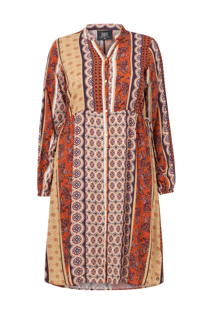 Zoey Skjortekjole Amina Shirt Dress
