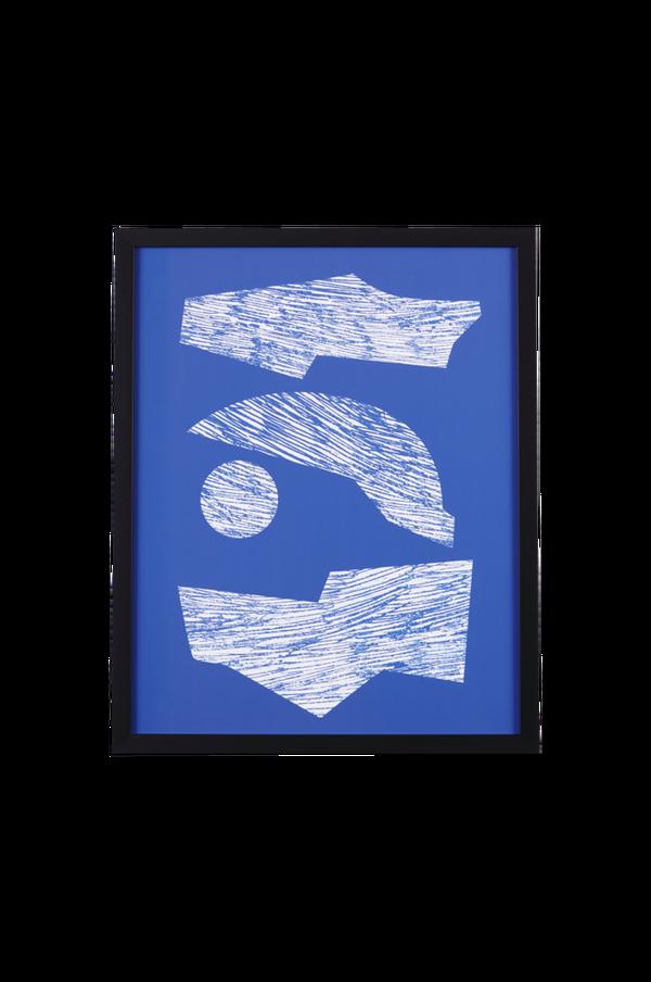 Bilde av Bilde Stack Of Shapes In Blue I - 30151