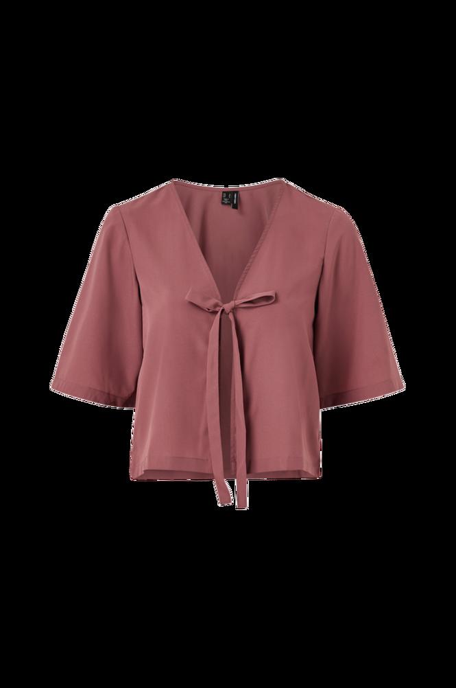 Vero Moda Slå-om-bluse vmAva 2/4 Cover Up