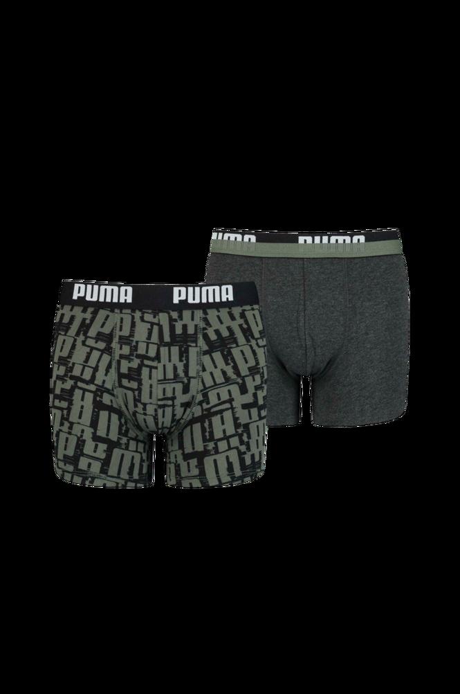 Boxershorts Puma Kids Logo Aop Boxer 2-pak