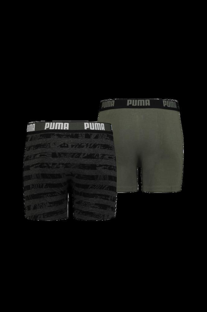 Boxershorts Puma Kids Collage Stripe Aop Boxer 2-pak