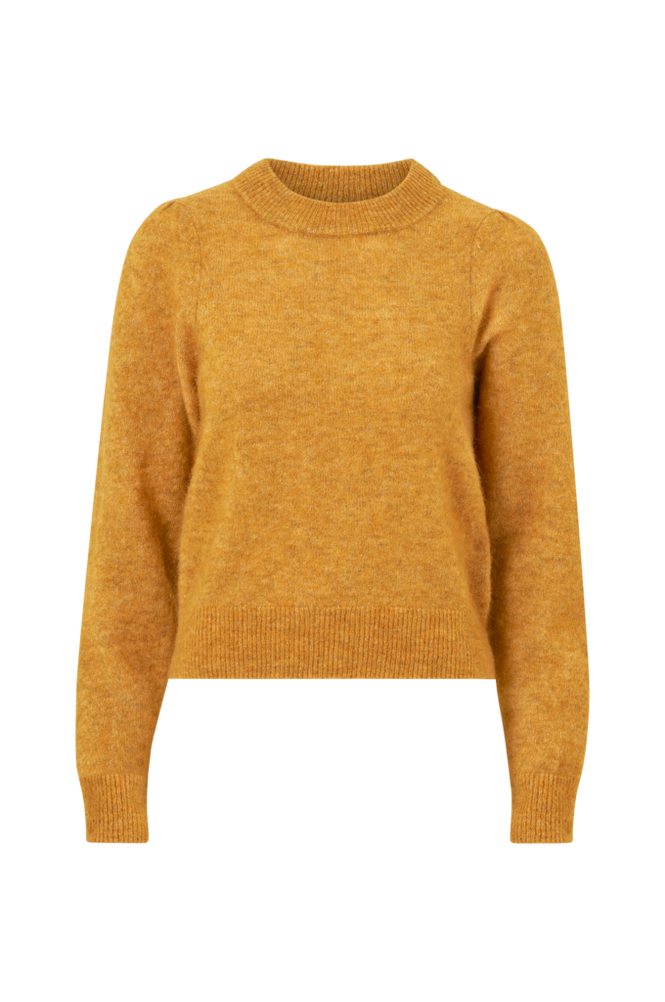 Second Female Trøje Brooky Knit Volumen O-Neck