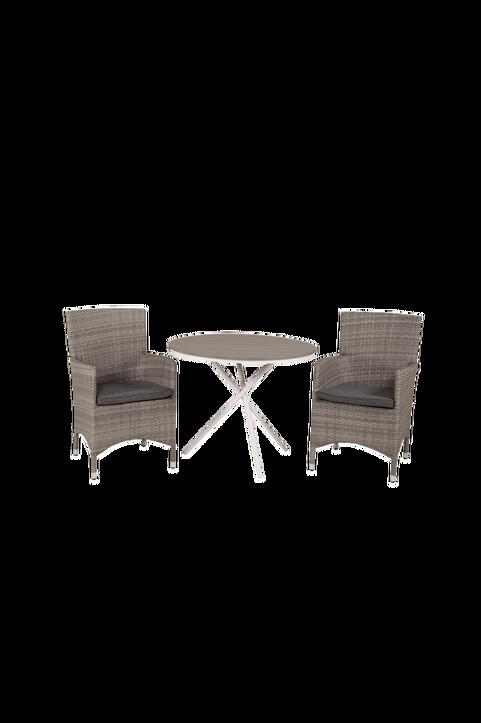 Cafébord Pascal och 2st Meja mat stol