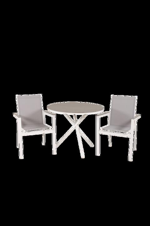 Cafébord Pascal och 2st Pascal mat stol
