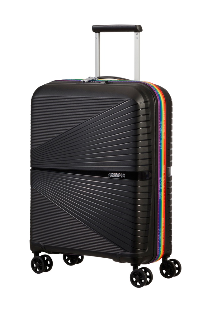 American Tourister Airconic 55/20 Black/Rainbow
