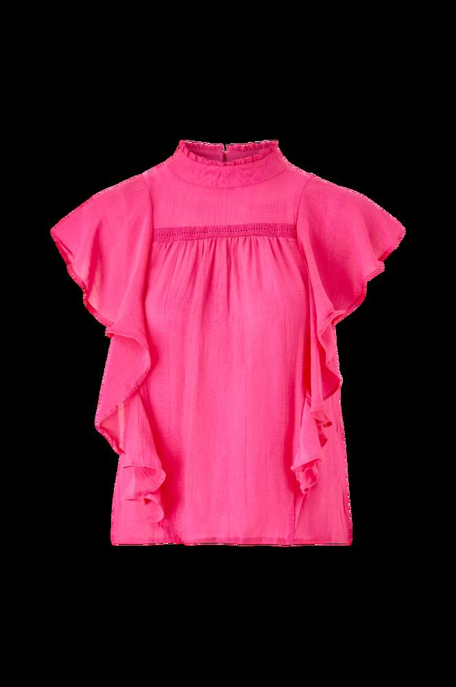 Se Vero Moda Bluse vmArisa S/L Frill Blouse FX ved Ellos