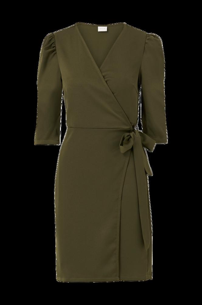 Vila Slå om-model viMossa L/S Short Dress
