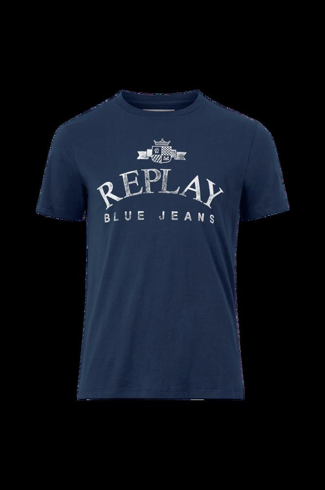 Replay T-shirt med vintageprint