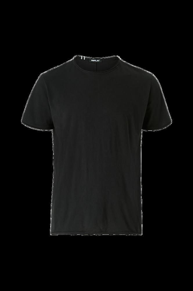 Replay T-shirt med rå kanter