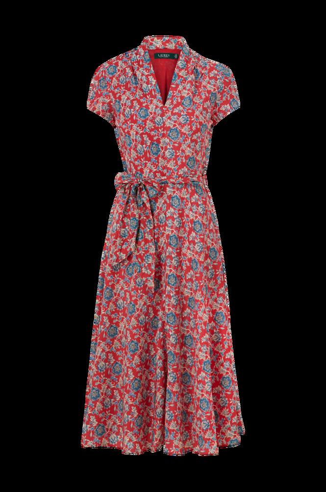 Lauren Ralph Lauren Kjole Red Mu Dress
