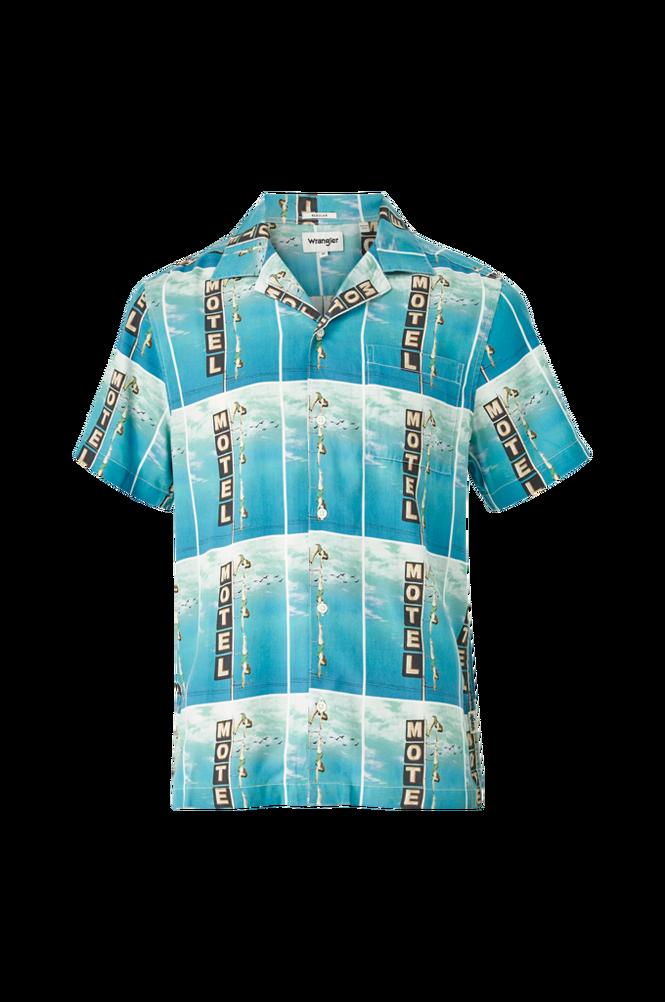 Wrangler Skjorte SS Allover Shirt