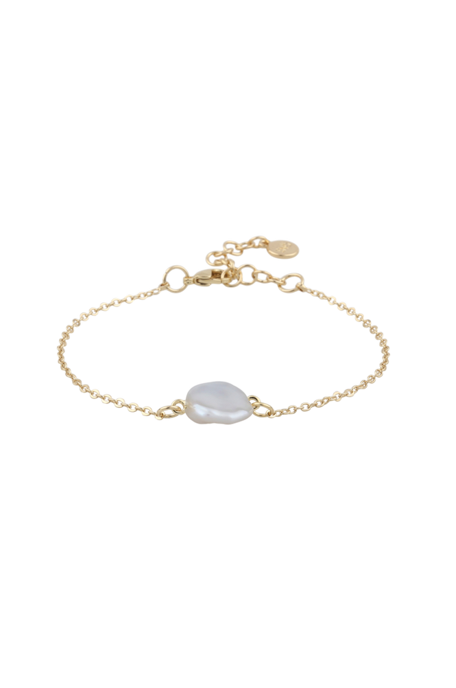 Snö of Sweden Armbånd Maxime Pearl Chain Bracelet