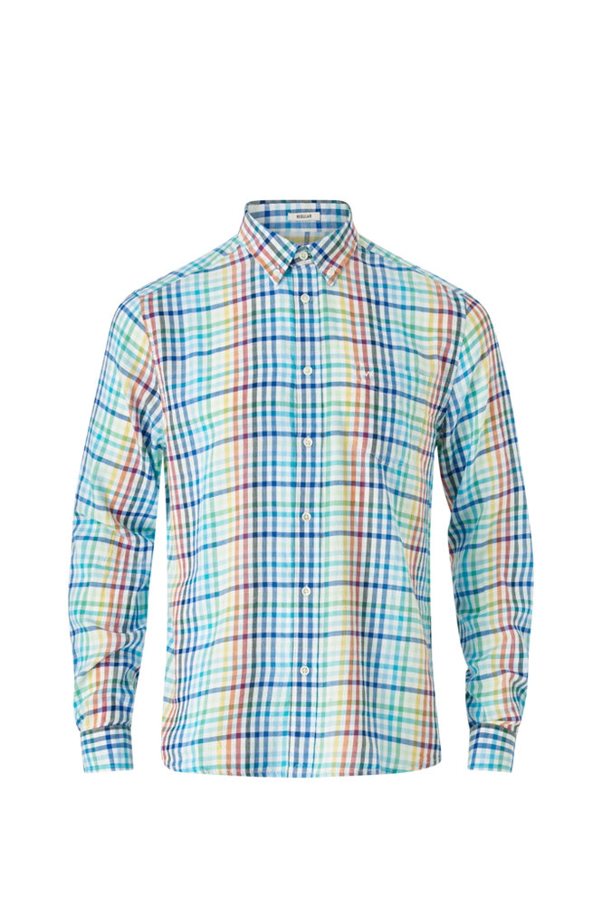 Wrangler Skjorte LS Bdown Shirt