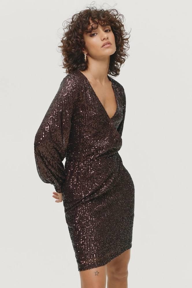 Soaked in Luxury Pailletkjole slNicole Dress