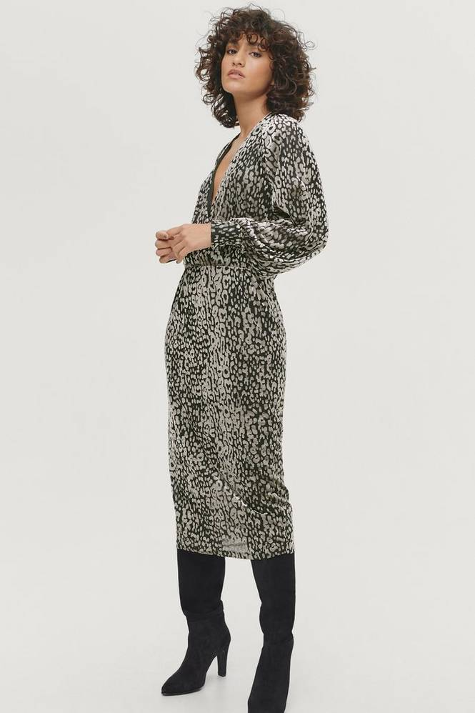 Soaked in Luxury Kjole slKamiko Dress LS