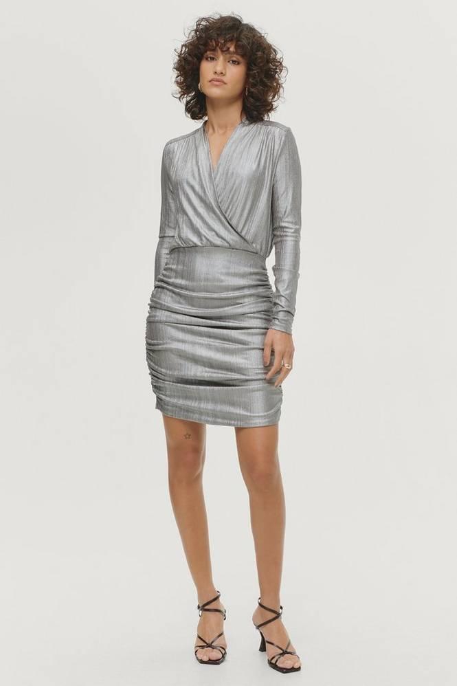 Soaked in Luxury Kjole slMieko Mini Dress LS