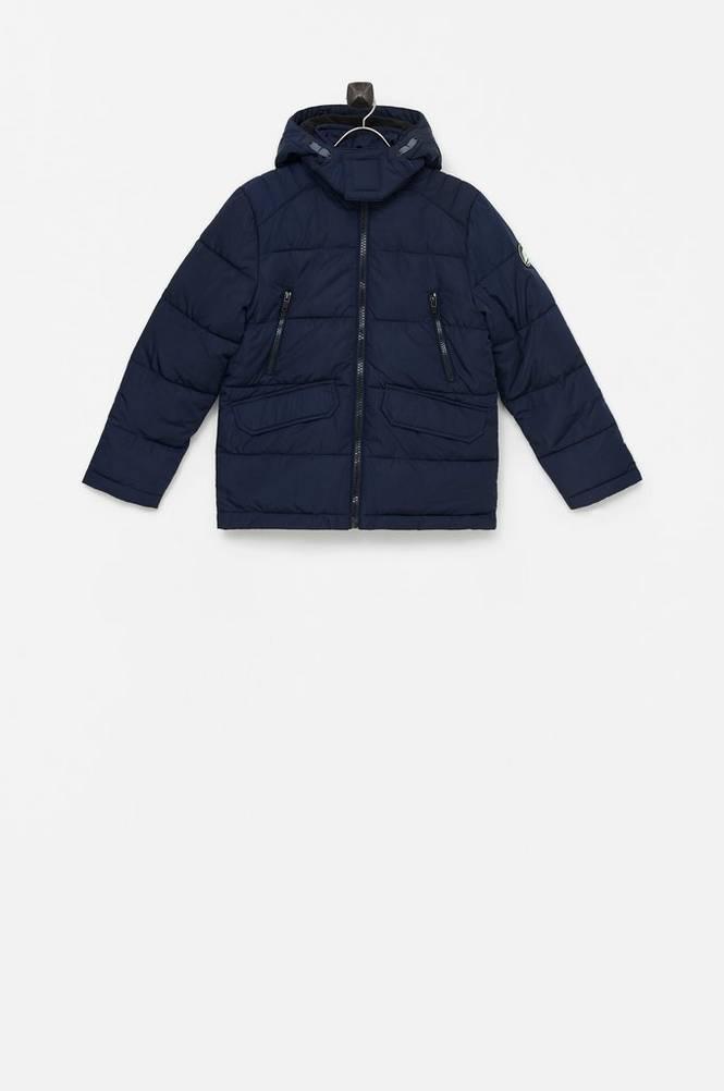 Petrol Quiltet jakke