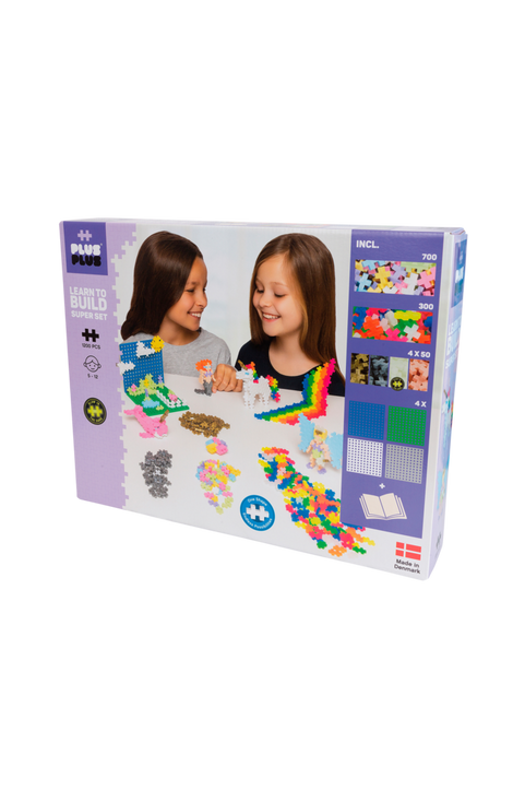 Learn to Build Mega set/Pastel