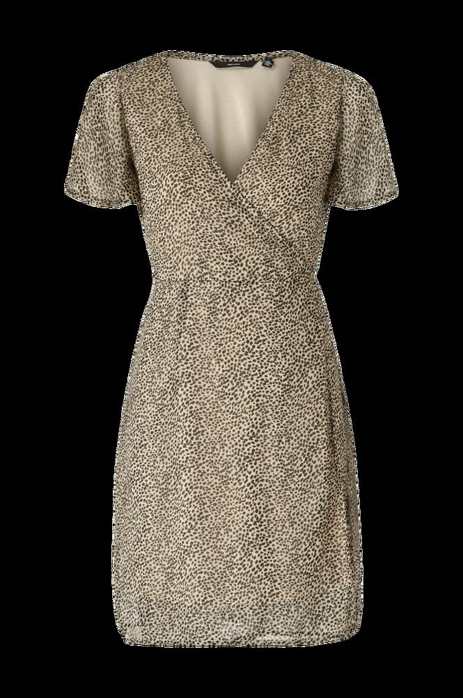 Vero Moda Slå om-kjole vmKay SS Wrap Short Dress Wvn