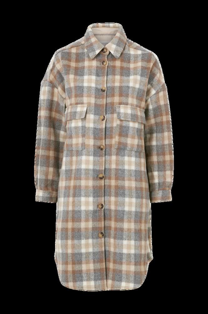 Cream Skjortejakke/frakke TaraCR OZ Shirt Jacket