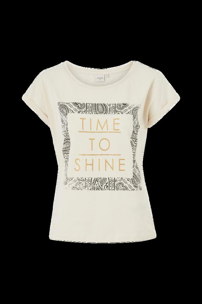 Cream Top InezCR T-shirt