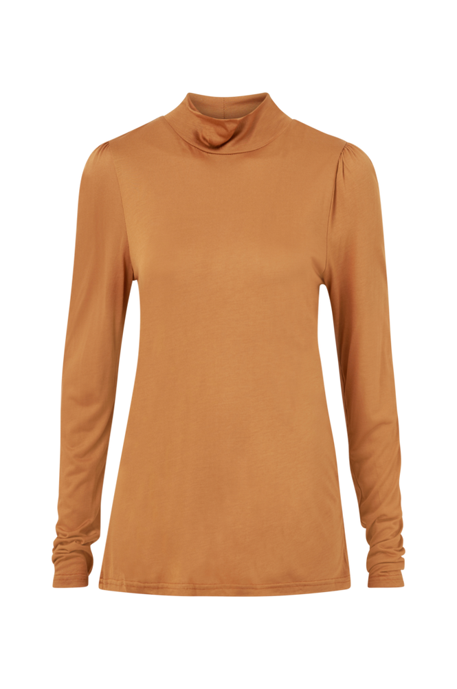 Cream Top ViolaCR Turtleneck T-shirt