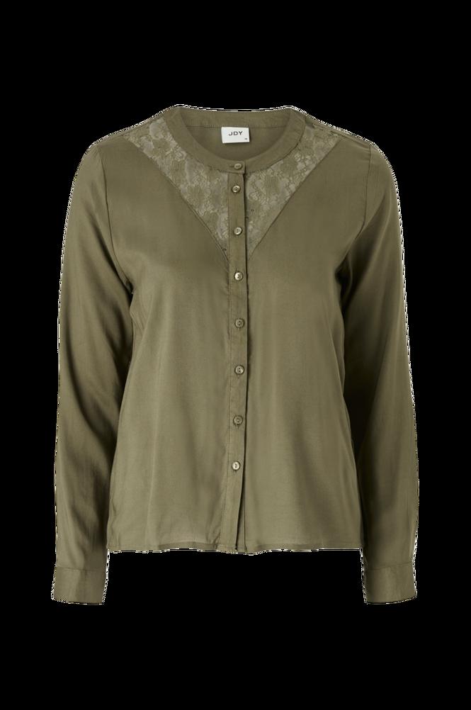 Jacqueline de Yong Bluse jdyNappa L/S Lace Shirt Wvn