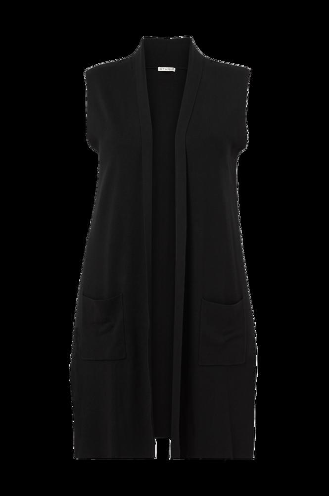 Studio Vest Long Knitted Vest