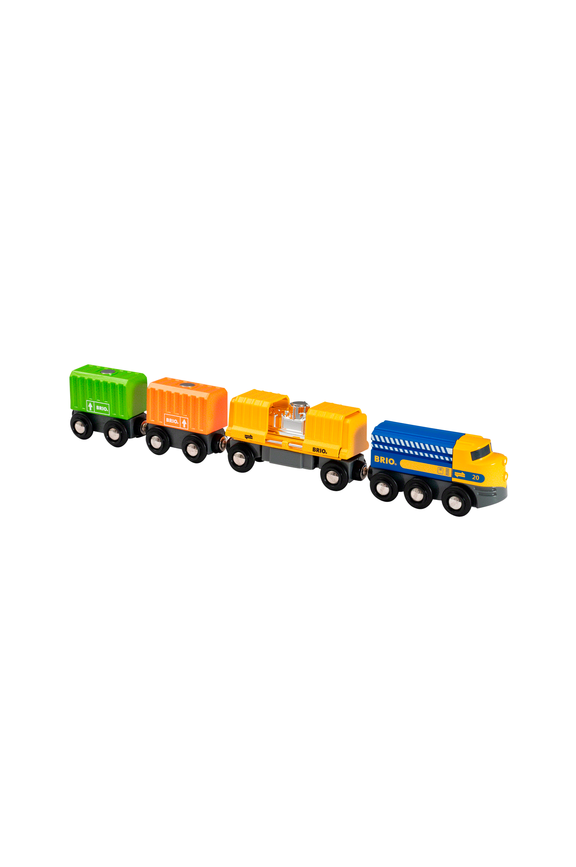 Brio - 33982 Godståg med tre vagnar