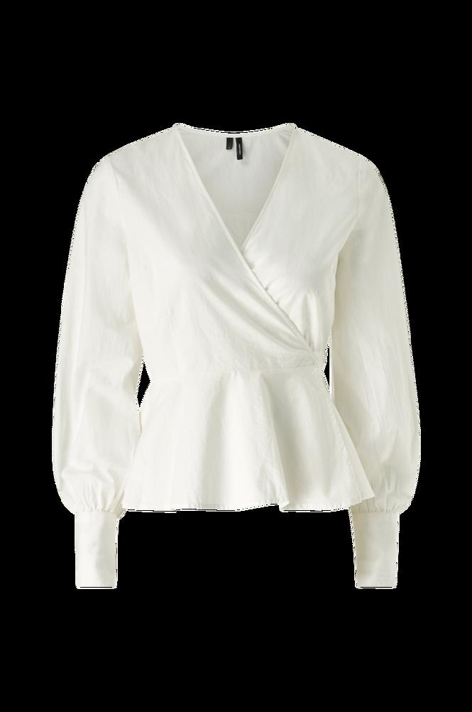 Vero Moda Slå om-bluse vmEdna L/S Wrap Top