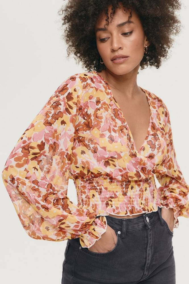 Gina Tricot Bluse Jane Smock Top