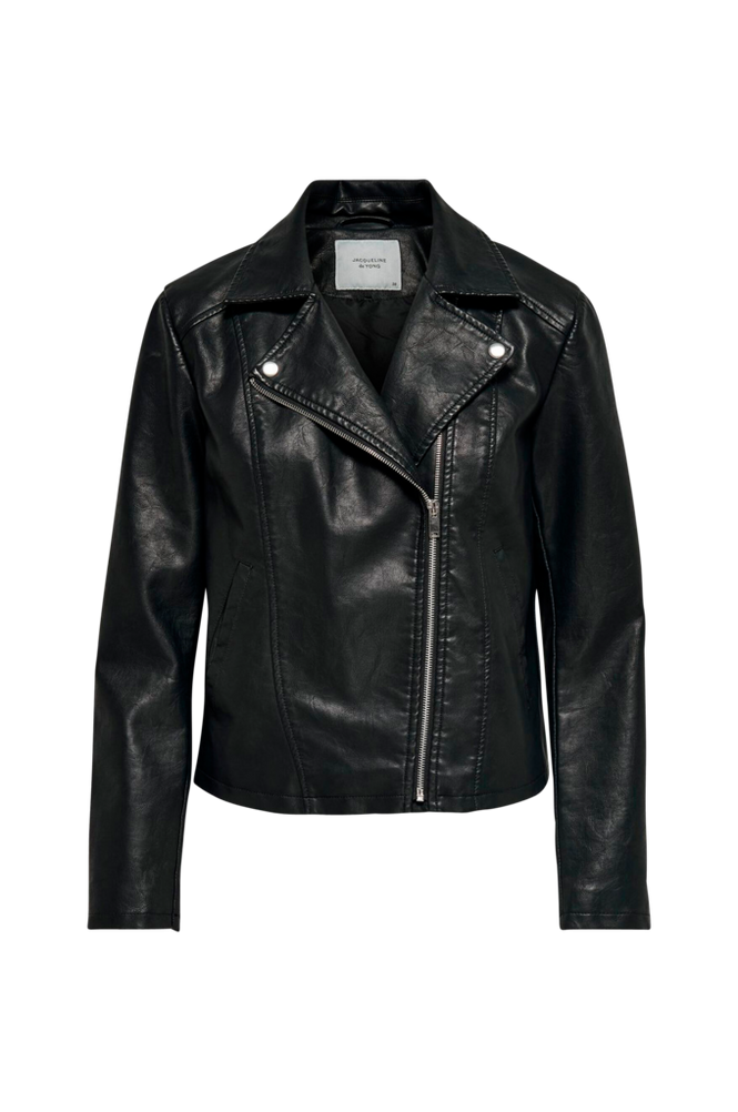 Jacqueline de Yong Jakke jdySimba Faux Leather Jacket