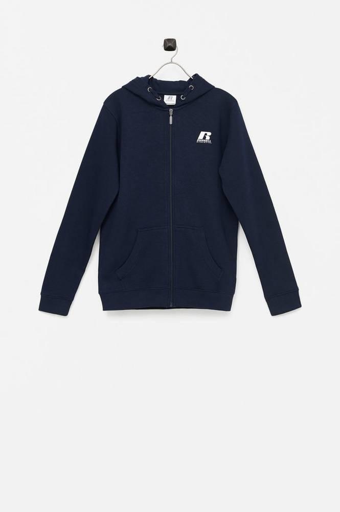Russell Athletic Sweatshirt R Logo BB Zip Hoodie